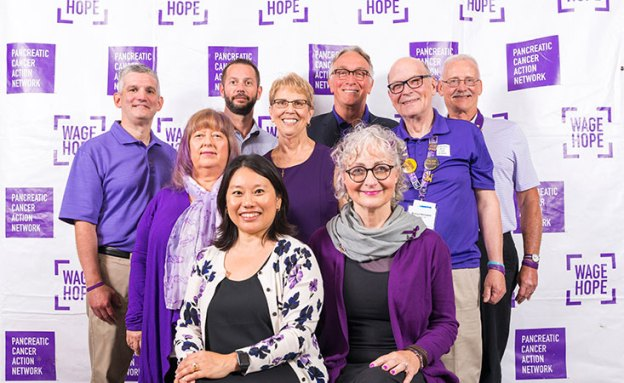 10 survivors serve on the Pancreatic Cancer Action Network's Survivor Council