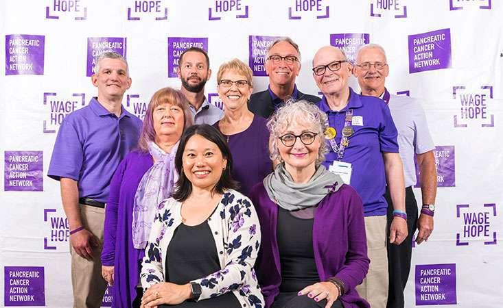 10 survivors serve on the Pancreatic Cancer Action Network's Survivor Council