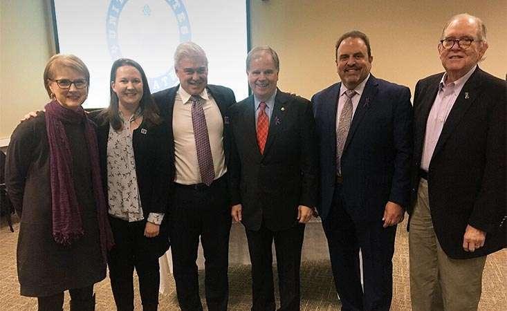 U.S. senator hosts field hearing in Alabama to discuss pancreatic cancer research