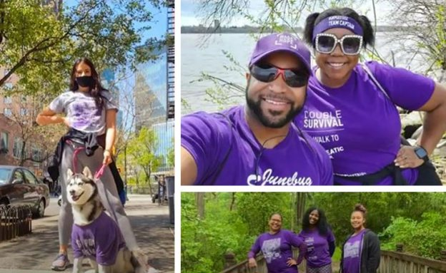 PanCAN ad campaign shows photos and videos from virtual pancreatic cancer walks nationwide