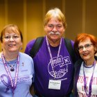 10-year pancreatic cancer survivor and friends at PanCAN's Advocacy Day in Washington, D.C.