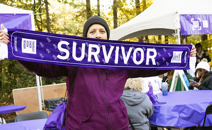 Pancreatic cancer survivor raises awareness