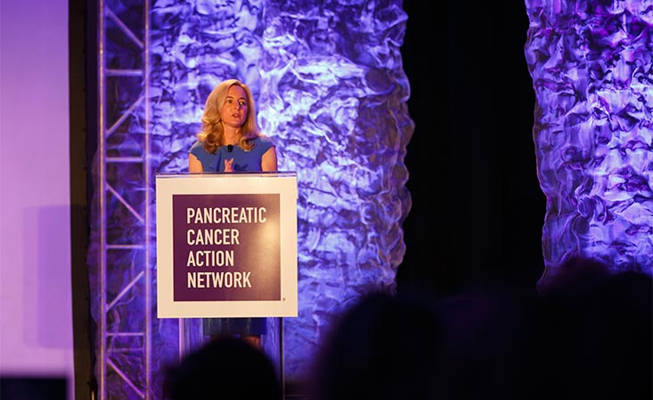 PanCAN President and CEO Julie Fleshman, JD, MBA