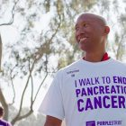 Pancreatic cancer survivor walks to end pancreatic cancer at PanCAN's PurpleStride