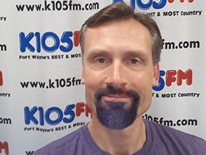 Dan Austin dyed his goatee purple for November Awareness.