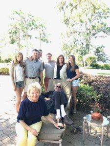 Pete Carpenter is shown surrounded by his devoted family as he battled pancreatic cancer.