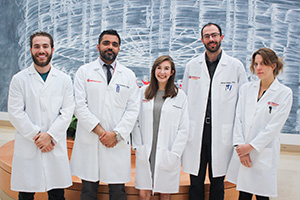 A team of expert scientists and clinicians conduct pancreatic cancer research