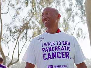 Robert Duran, pancreatic cancer survivor