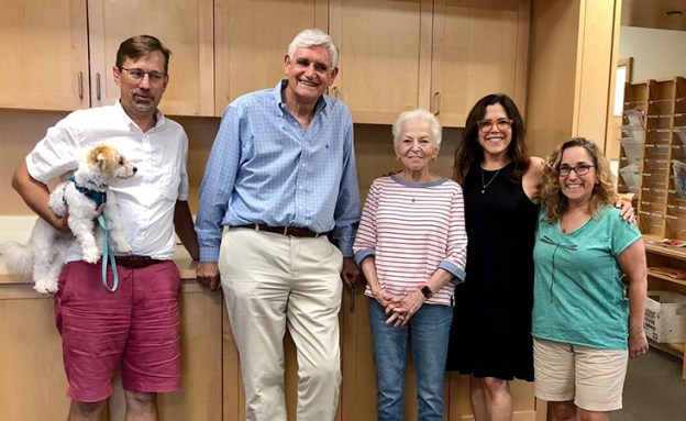 Cold Spring Harbor Laboratory with Dr. Dave Tuveson, Dr. Bruce Stillman, Susan Schultz, Marla Schultz, Lauren Postyn