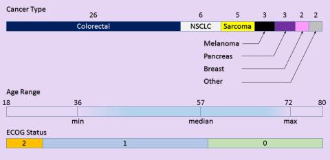 Patient Demographics for Gemcitabine Dose Escalation Study