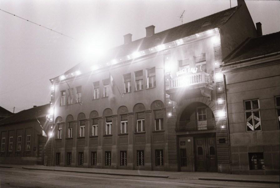 Ulice Pančeva 1963.