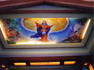 Ceiling Mural - Our Lady of Annunciation