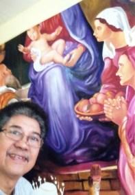 Mural Painting - Ligayen Church Pangasinan 2014