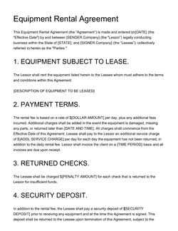 Agreement Templates 100 Free Examples Create Edit And