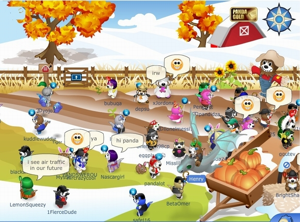 Pandanda virtual world online games for kids http://www.pandanda.com