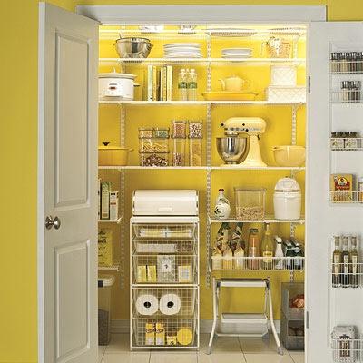 Mustard Yellow Kitchen Pantry Panda S House