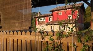Casa Pandesiertos desde la pérgola