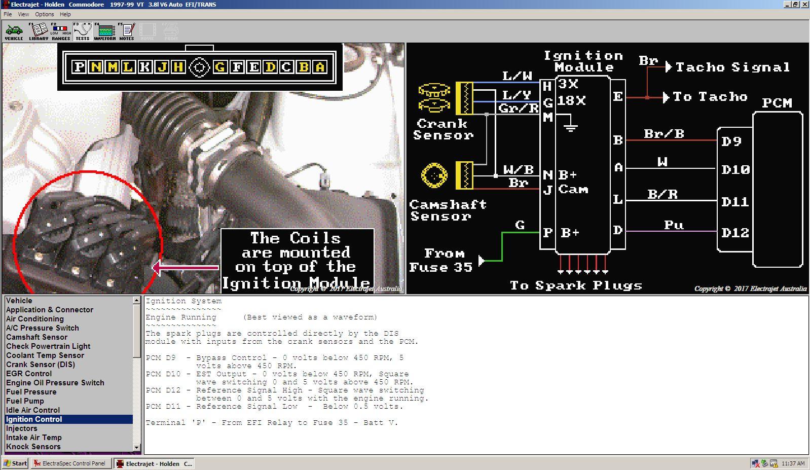 Vt Commodore Dfi Module Wiring Diagram