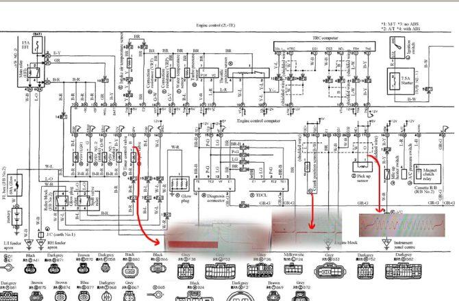 toyota ln130 wiring diagram  wiring diagram wavestartup