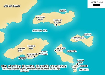 Islandia of the Alatians