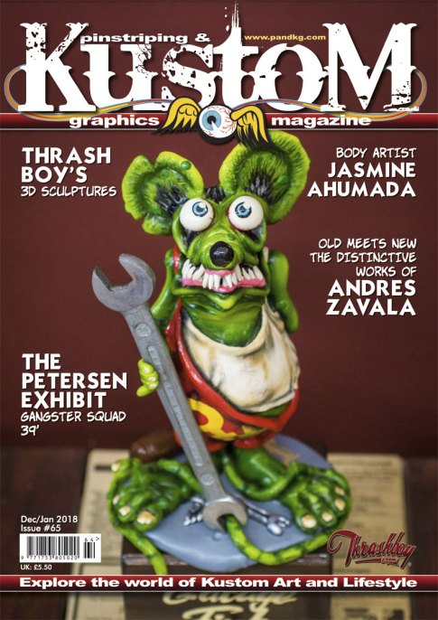 The cover for Issue 65