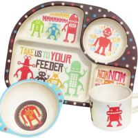 bimbamboo bamboe kinderservies – bim bam boo – bamboe kinderservies – kinder servies