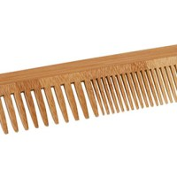Bamboe kam – houten haarkam – houten kam - croll en denecke