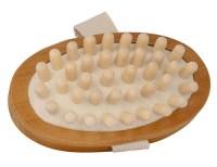 houten massageborstel – massage borstel – huid massage