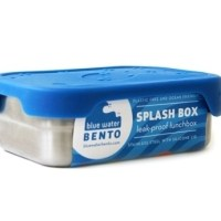 ecolunchbox splashbox - rvs splash box - lekvrije lunchbox – rvs broodtrommel