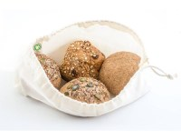 herbruikbare broodzak - katoenen broodzak – broodzakken - broodzakjes