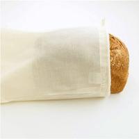 broodzak herbruikbaar - katoenen broodzak – broodzakken – broodzak stof