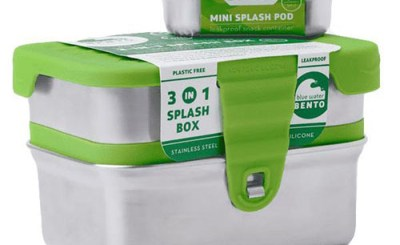 3 in 1 ecolunchbox splashbox - lekvrije lunchbox - ecolunchbox rvs lunchbox lekvrij splashbox