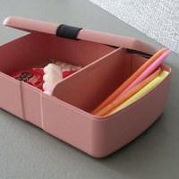 broodtrommel met vakjes - zuperzozial broodtrommel met elastiek - lunchbox