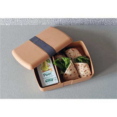 broodtrommel met elastiek - zuperzozial broodtrommel met vakjes - lunchbox