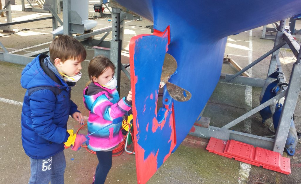 Kids antifouling