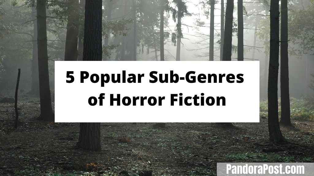 Read more about the article The 5 Popular Subgenres of Horror Fiction