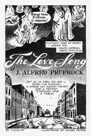 the love song of j alfred prufrock poem themes