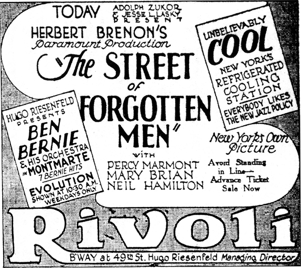 Rivoli Theater - Street of Forgotten Men