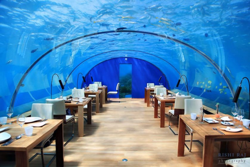 Ithaa Restaurant-Photo by Rishi Shukla