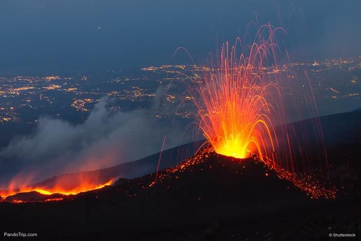 Etna eruption of July 2014, Sicily, Italy