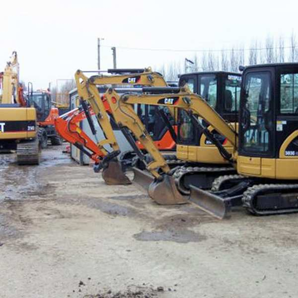 digger vehicles