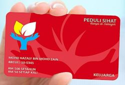 Kad Peduli Sihat Selangor Untuk Keluarga dan Individu