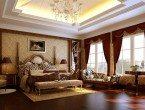 Interior Rumah Mewah Kamar Tidur Klasik Eropa
