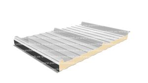 Panel frigorífico para cubierta sandwich