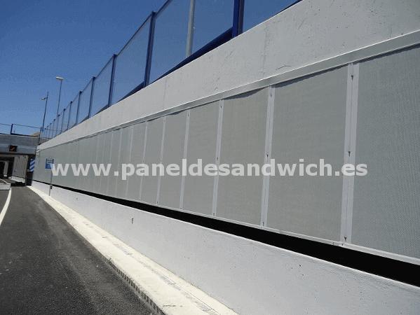 panel lana de roca acustico