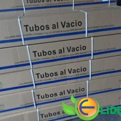 cajas de tubos al vacio