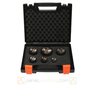 Alfra Tricut + Nominal Knockout Punch & Die Set for Stainless Steel