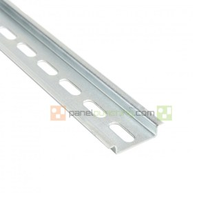 A 20 Piece Box of 2 Meter 35X7.5 mm Slotted DIN Rail 111.013 TS 35/F6