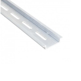 A 20 Piece Box of 1 Meter 35X7.5 Slotted Aluminum DIN Rail 111.033