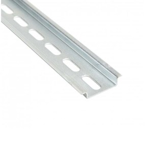 2 Meter 35X7.5 mm Slotted Stainless Steel DIN Rail 111.037 TS 35/F6 INOX